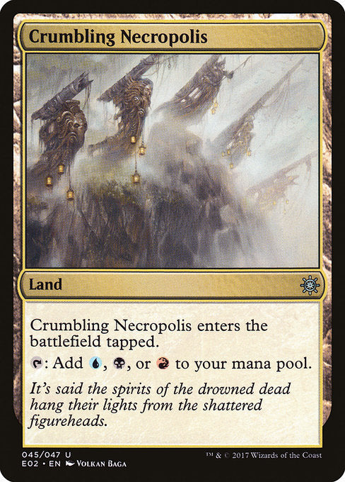 Crumbling Necropolis [Explorers of Ixalan] | Cascade Games | New Zealand