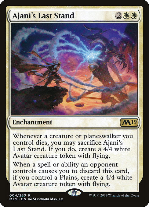 Ajani's Last Stand [Core Set 2019]  | My Pop Culture | New Zealand