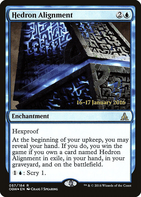 Hedron Alignment [Oath of the Gatewatch Promos] | Alvar & Hurriks