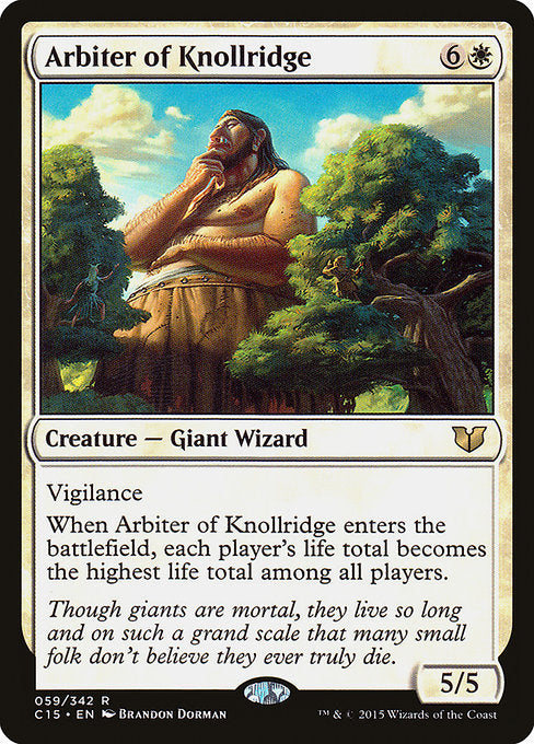 Arbiter of Knollridge [Commander 2015]  | My Pop Culture | New Zealand