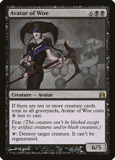 Avatar of Woe [Commander 2011]  | My Pop Culture | New Zealand