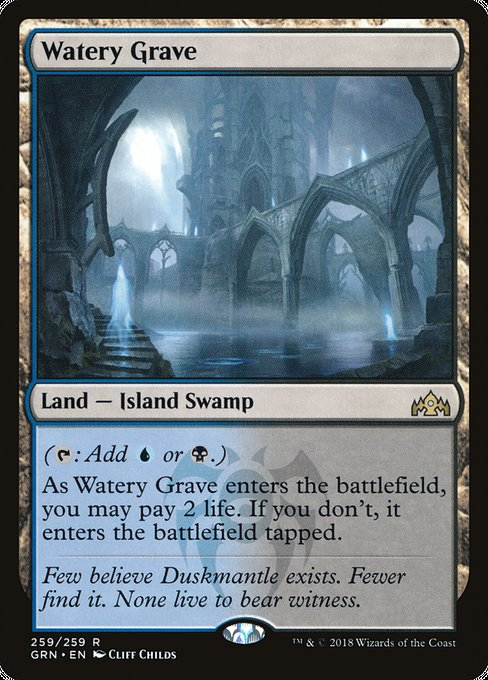 Watery Grave [Guilds of Ravnica] | Alvar & Hurriks