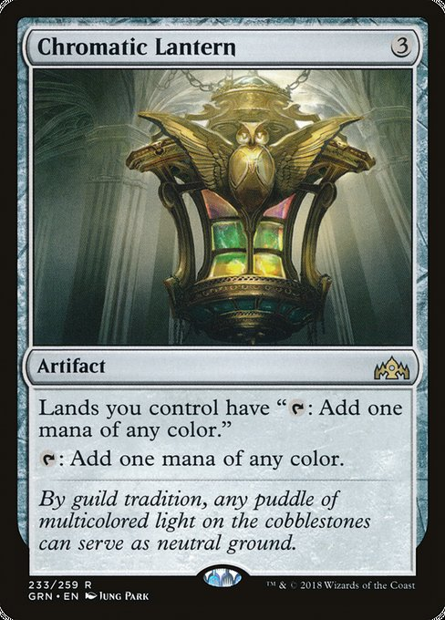 Chromatic Lantern [Guilds of Ravnica] | Alvar & Hurriks