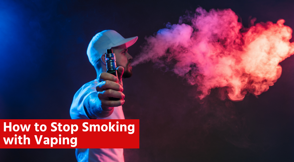 how to stop smoking with vaping