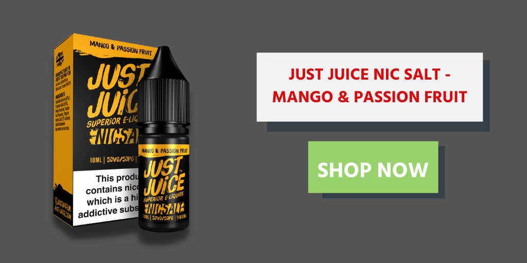 Buy Mango And Passion Fruit by Just Juice Salt now