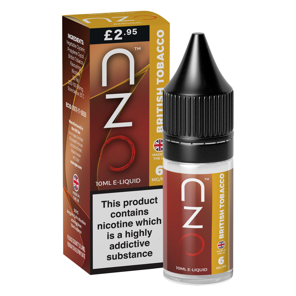 nzo - British Tobacco 50/50 10ml