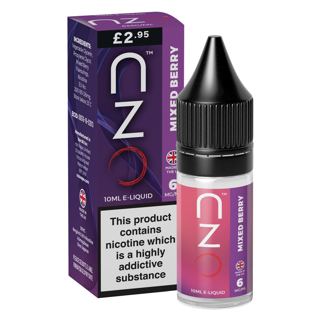 nzo - Mixed Berry 50/50 10ml