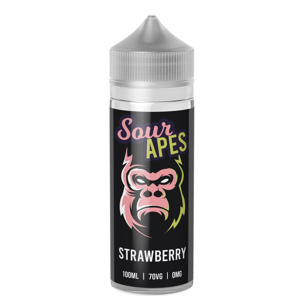 Sour Apes - Sour Strawberry 100ml