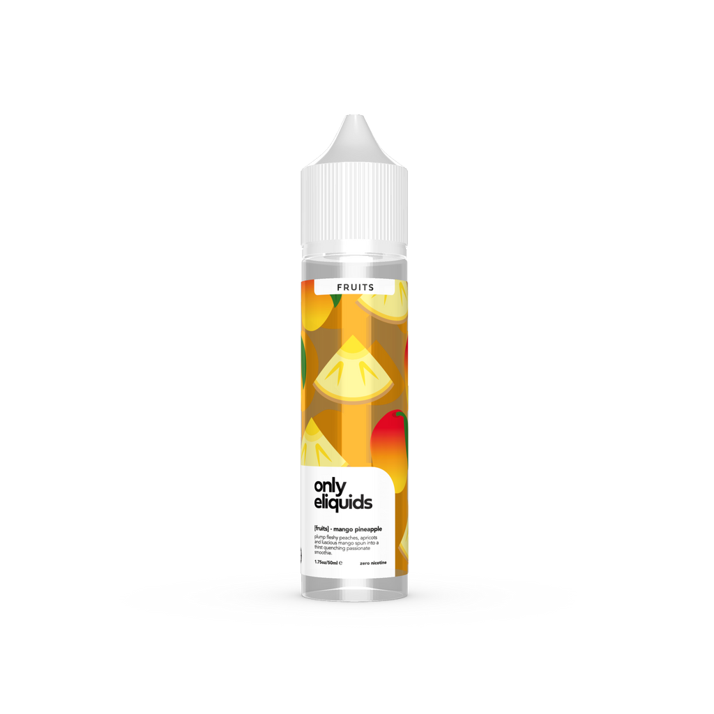 Prohibition Only Fruits Shortfill - Mango Pineapple