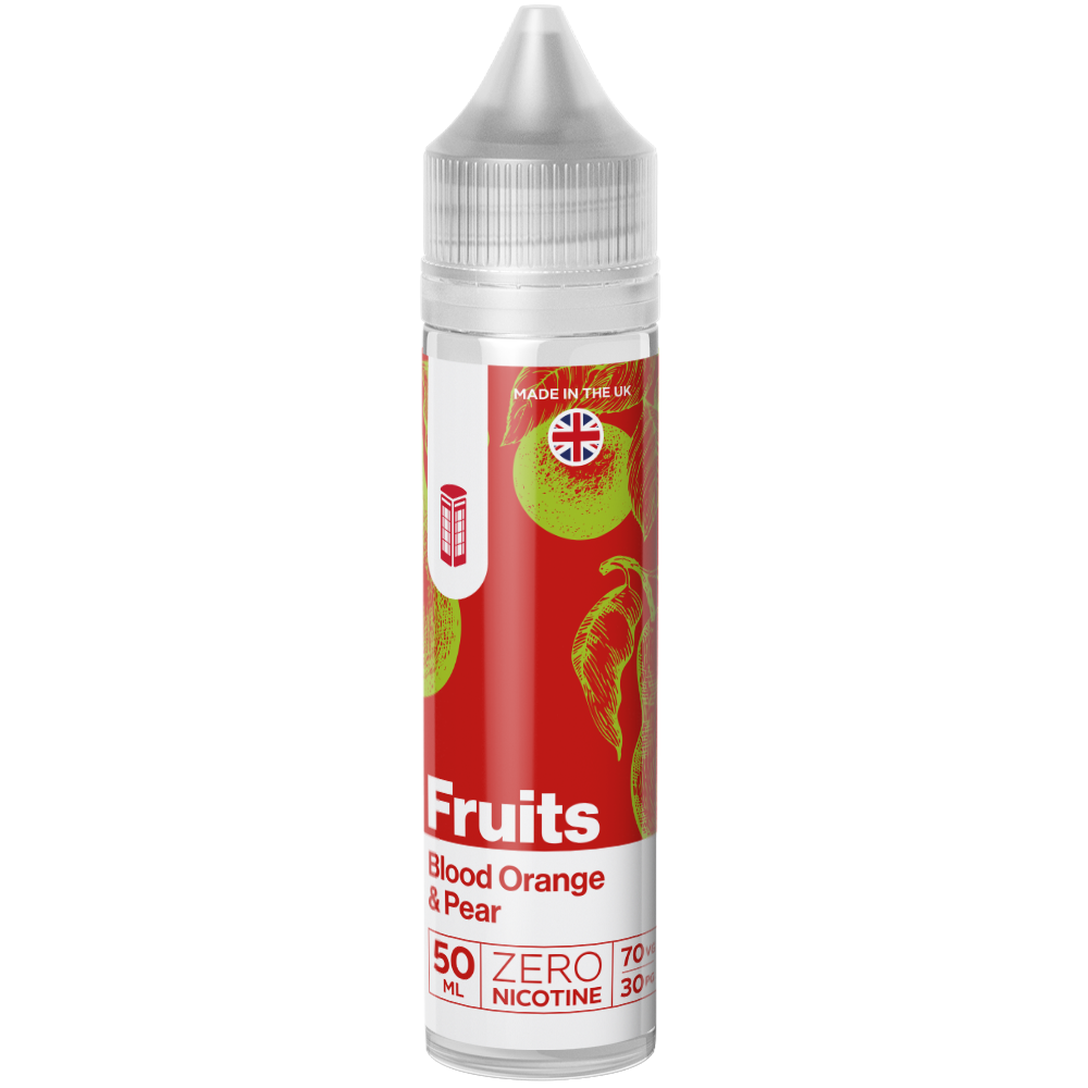 Red Liquids Shortfill RED Fruits - Blood Orange and Pear Shortfill