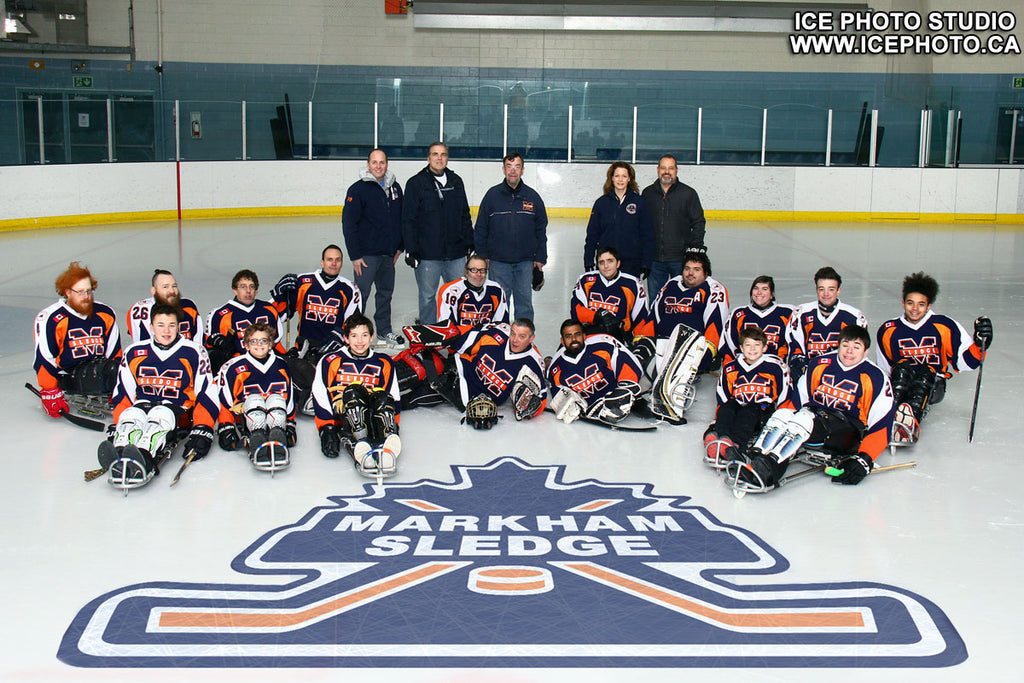 Islanders Sledge Hockey junior and intermediate team 2017-2018
