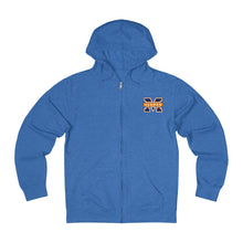 "Load image into Gallery viewer, Islanders ""M"" French Terry Zip Hoodie (Unisex)"