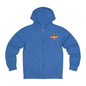 "Islanders ""M"" French Terry Zip Hoodie (Unisex)"