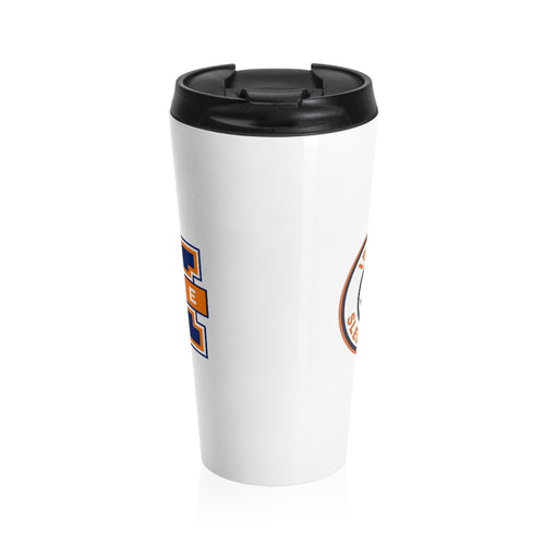 Islanders Double Logo Stainless Steel Travel Mug