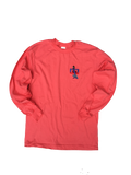 Long-sleeve t-shirt: Coral