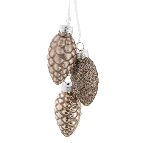 Pinecone Cluster Ornament