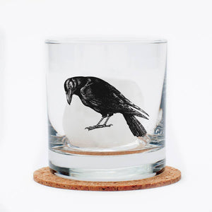 Crow Rocks Glass