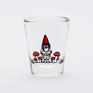 Garden Gnome Shot Glass