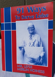 91 Ways to Serve Lefse Cookbook