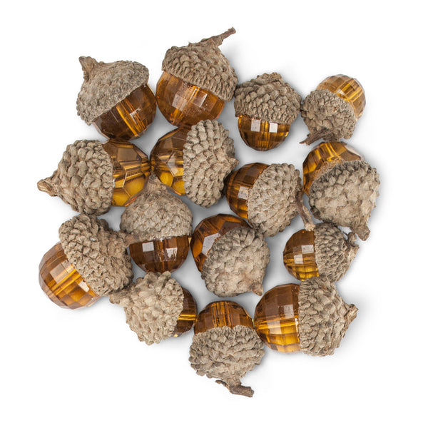 Gem Acorns - 15pcs