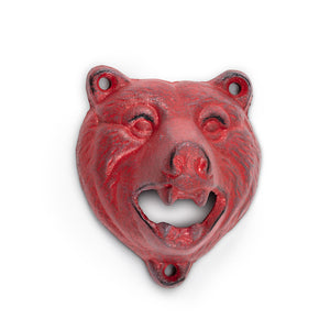 Growling Bear Bottle Opener