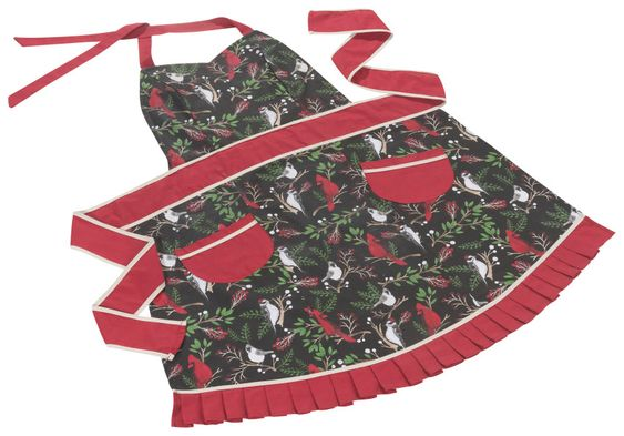 Winter Birds Betty Apron