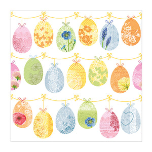 Luncheon Paper Napkins - Easter Eggs - 20 count