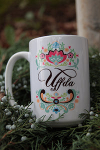 Uffda 15oz Coffee Mug
