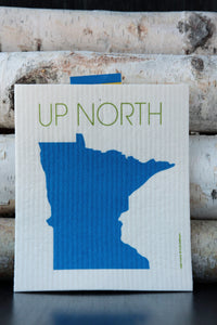 Up North Minnesota Dishcloth