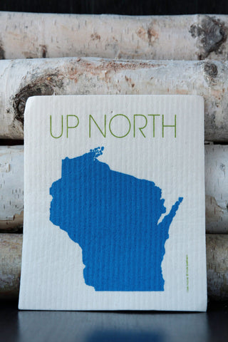 Up North Wisconsin Dishcloth