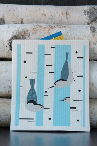 Nuthatch Dishcloth