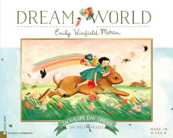 Jackalope Day Dream puzzle - Emily Winfield Martin
