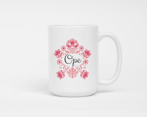 Ope Coffee Mug