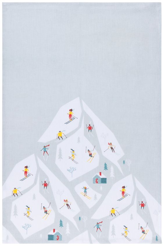 Alpine Tea Towel