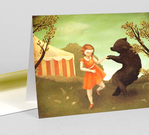 Bear Dance Card
