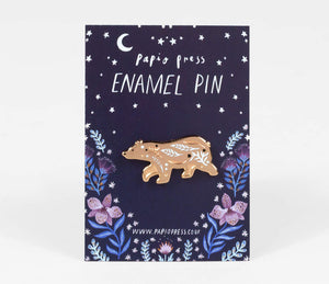 Papio Press Bear Enamel Pin
