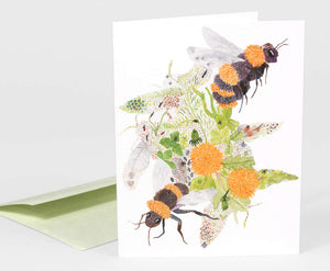 Bees, Bugs and Spring Things Card
