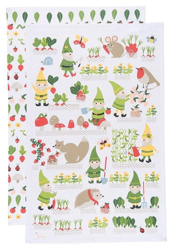Gnome Sweet Gnome Tea Towel Set