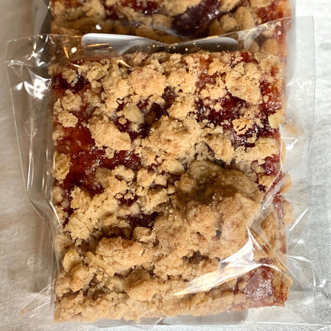 Lingonberry Oatmeal Bar