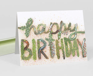 Mossy Happy Birthday Card