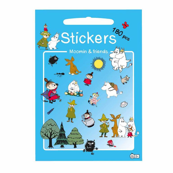 Moomin and Friends Sticker Set