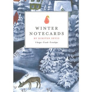Kirsten Sevig - Winter Notecards