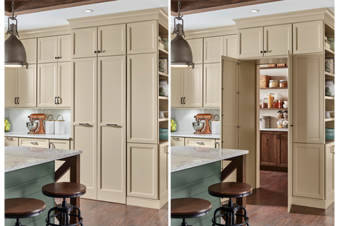 Kemper Cabinets Walk Through Pantry