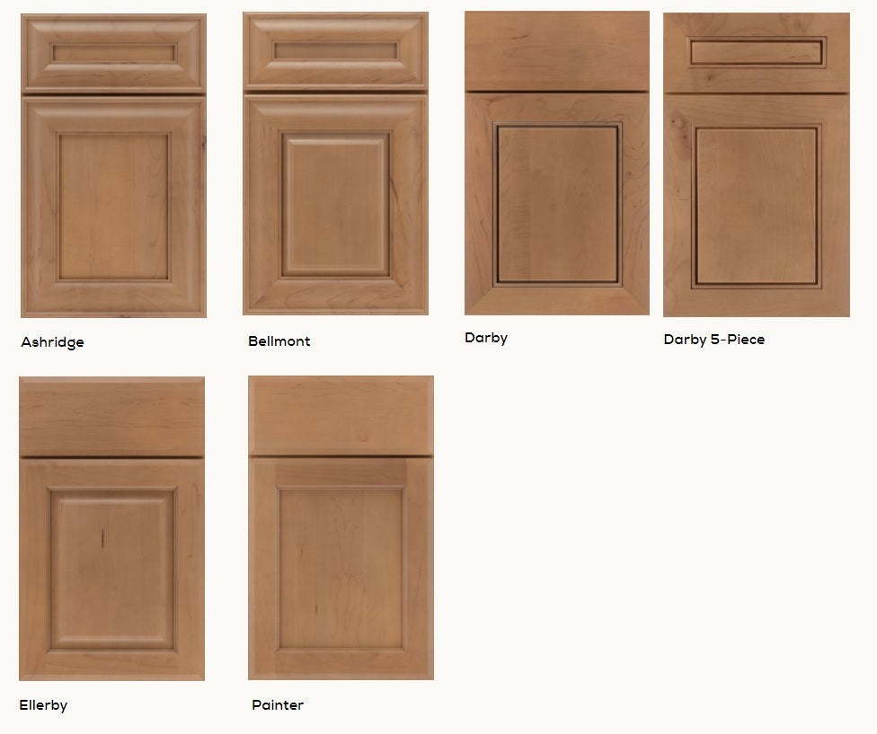 Kemper Choice 2020 Product Discontinuations, Darby, Ashridge, Bellmont, Painter, Ellerby Door styles