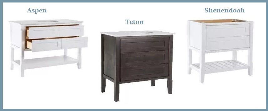 Fast, affordable furniture vanities available at DirectCabinets.com