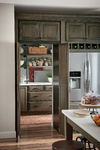 Diamond Cabinetry Walk Through Pantry, Open