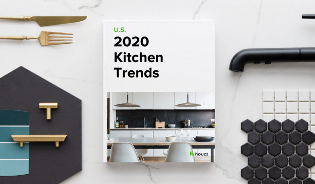 Houzz kitchen trends for 2020 report