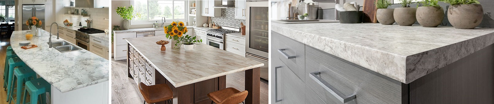 Laminate Countertops, the least expensive option for counter tops still