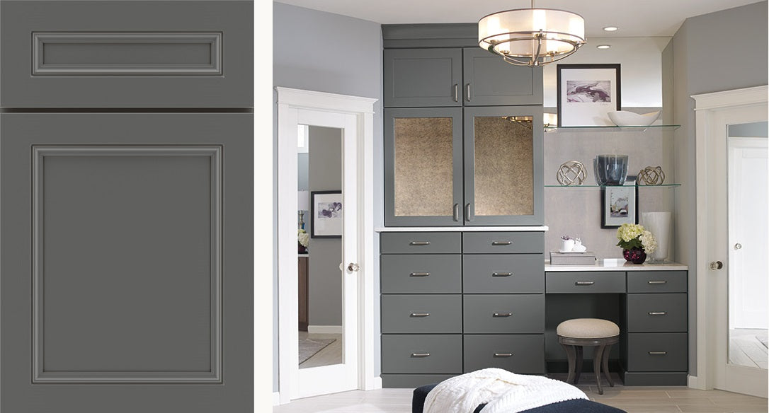 Moonstone Finish by Kemper Cabinets
