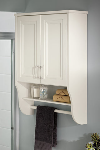 Over the john or over the toilet storage cabinet